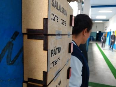 Acessibilidade melhora vida de alunos em escola pública